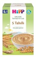 Hipp Organik 5 Tahıllı Tahıl Bazlı Ek Gıda 200 gr