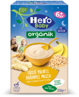 Hero Baby Organik Buğday Yulaflı Muzlu 200 gr