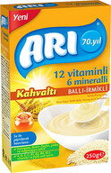 Arı 12 Vitaminli 6 Mineralli Sütlü Balli İrmikli Pirinçli Kahvaltı 250 gr