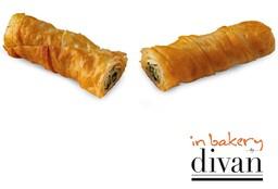 Ispanaklı Rulo Börek 4 adet (4x100 gr) In Bakery by Divan