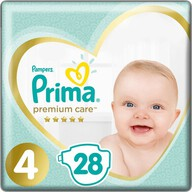 Prima Bebek Bezi Premium Care 4 Beden 28 Adet Maxi
