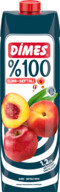 Dimes %100 Elma&Şeftali 1 L