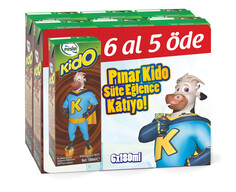 Kido Süt Kakaolu 6x180 ml