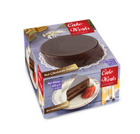 Dondurulmuş Cake Works Bol Çikolatalı Pasta 600 gr