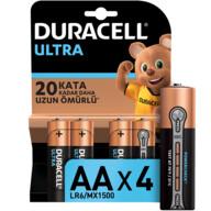 Duracell Turbo Max Kalem Pil 4'lü AA