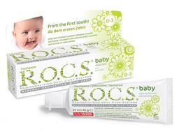 Rocs Baby 0-3 Yaş Papatya Özlü 45 gr