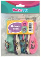 Unicorn Baskılı Balonlar 12'li