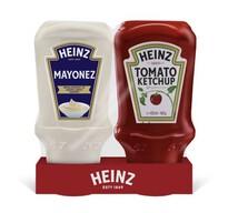 Heinz Ketçap 460 gr ve Mayonez 400 gr İkili Set