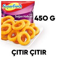 Dondurulmuş Superfresh Soğan Halka Kroket 450 gr