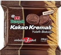 Eti Burçak Kakaolu 3'lü 246 gr
