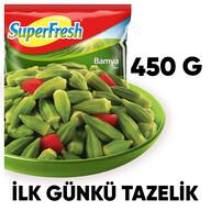 Dondurulmuş Superfresh Bamya 450 gr