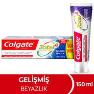 Colgate Total Gelişmiş Beyazlık Diş Macunu 150 ml