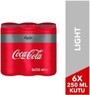 Coca-Cola Light 6x250 ml