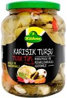 Kühne Türk Tipi Karışık Turşu 720 ml
