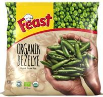 Dondurulmuş Feast Organik Bezelye 450 gr