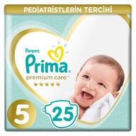 Prima Bebek Bezi Premium Care 5 Beden 25 Adet Junior Ekonomi Paketi