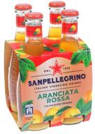 San Pellegrino Aranciata Rossa-Kan Portakal 4x200 ml
