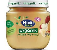 Hero Baby Organik Karışık Meyveli 120 gr