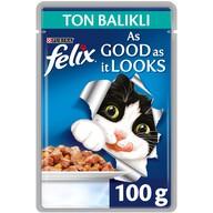 Felix Ton Balıklı Pouch 100 gr