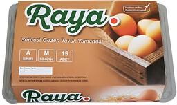 Raya Gezen Tavuk Yumurtası 15'li