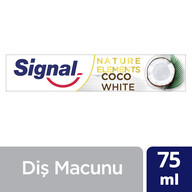 Signal Nature Elements Diş Macunu Hindistan Cevizi 75 ml