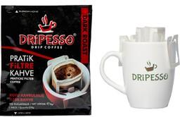 Dripesso Dark Roast Pratik Filtre Kahve 5'li
