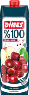 Dimes %100 Elma&Vişne 1 L