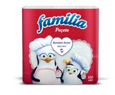 Familia Peçete 100'lu