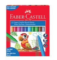 Faber-Castell Super Comfort Keçeli Kalem12'li