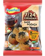 Dondurulmuş Superfresh Sade Poğaça 420 gr