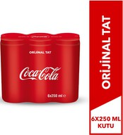 Coca-Cola 6x250 ml