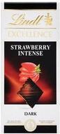 Lindt Excellence Dark Strawberry 100 gr