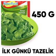 Dondurulmuş Superfresh Ispanak 450 gr