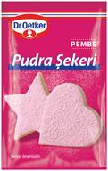 Dr. Oetker Pembe Renkli Pudra Şekeri 15 gr