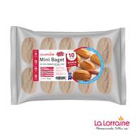 Dondurulmuş La Lorraine Mini Baget Sade Ekmek 10'lu