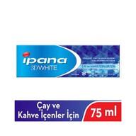 Ipana 3 Boyutlu Beyazlık Diş Macunu Çay ve Kahve İçenler İçin 75 ml
