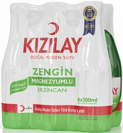 Kızılay Sade Maden Suyu 6x200 ml (Erzincan)