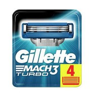 Gillette Mach3 Turbo Yedek Bıçak 4'lü