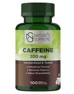 Nature's Supreme Caffeine - 100 Kapsül