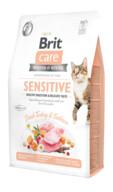 Brit Care Tahılsız Taze Hindili ve Somonlu Sensitive Kedi Maması 2 kg
