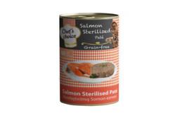 Chefs Choice Somon Etli Kısırlaştırılmış Ezme Kedi Konserve 400 gr