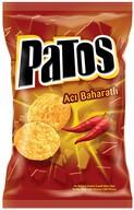 Patos Acı Baharat Aromalı Çeşnili Mısır Cipsi 125 gr