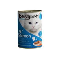 Bestpet Somonlu Kısırlaştırılmış Kedi Yaş Mama 400 g