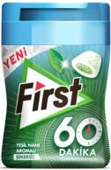 First Yeşil Nane 60 dk Sakız 64 gr