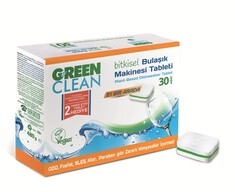 U Green Clean Bulaşık Makinesi Tablet 30'lu