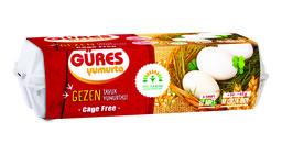 Güres Gezen Tavuk Yumurtası 10'lu (53-62 gr)