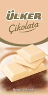 Ülker Çikolata Beyaz Tablet 80 gr