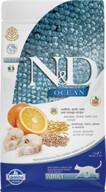 N&D Low Ocean Morina Balık&Portakallı Yetişkin Kedi Maması 1.5 kg