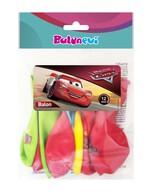Cars Lisanslı Baskılı Balon 12'li