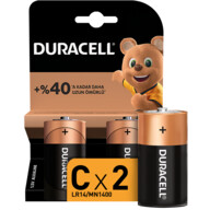Duracell Basic C Boy Pil 2'li